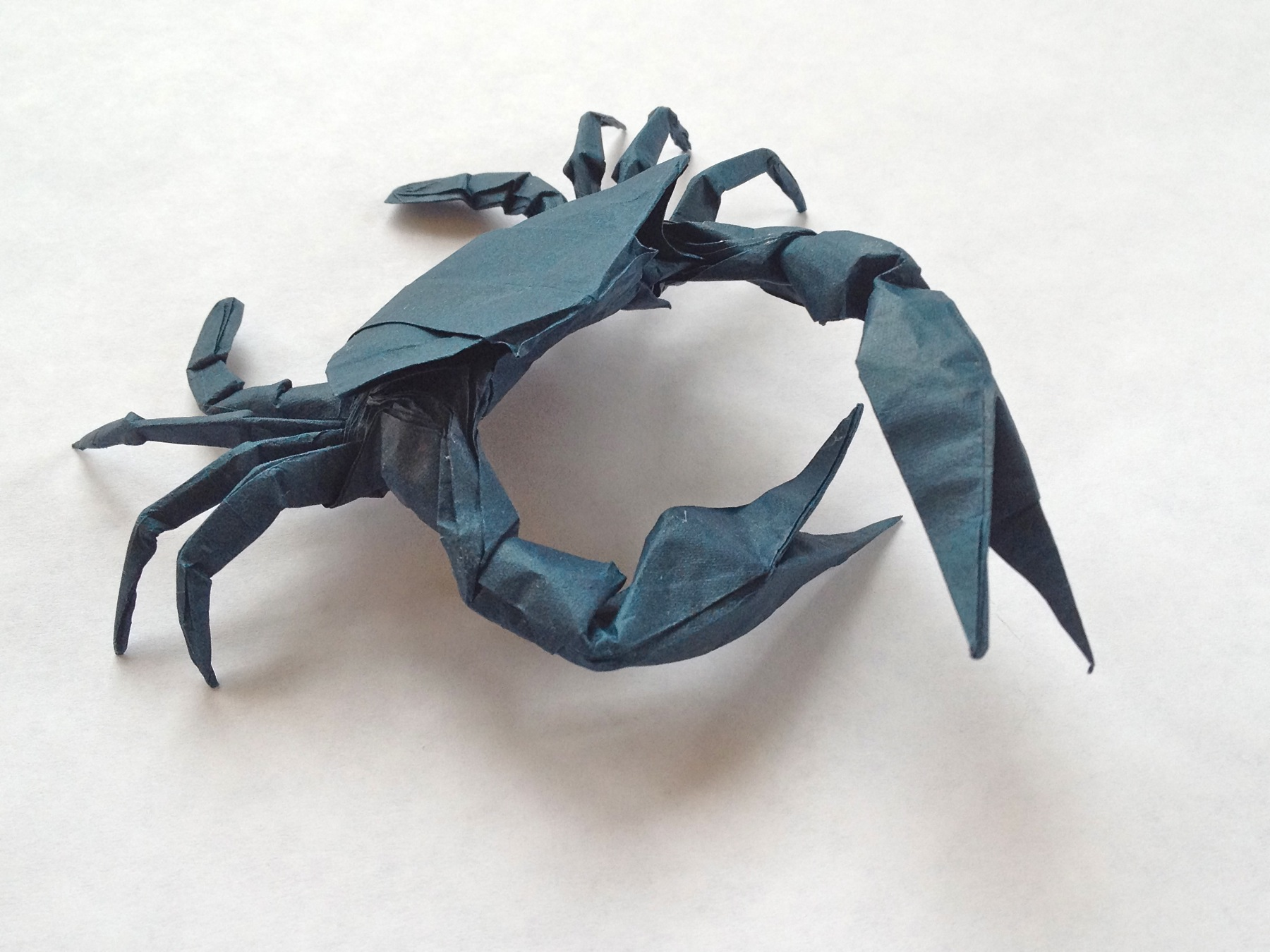 How to make Origami Crab | Easy Origami Crab Tutorial (2018) - YouTube | 1350x1800